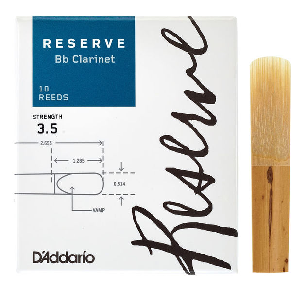 Reserve Clarinet 3.5 DAddario Woodwinds