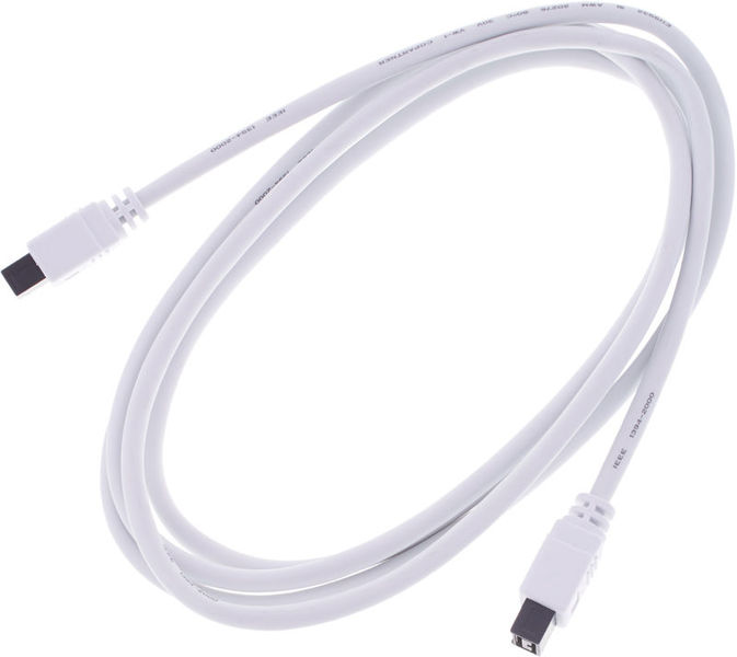 pro snake FireWire 800 Cable 9 Pin 2m Wh