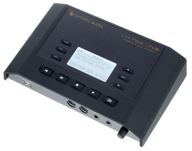 Live Player LP-16 Cymatic Audio