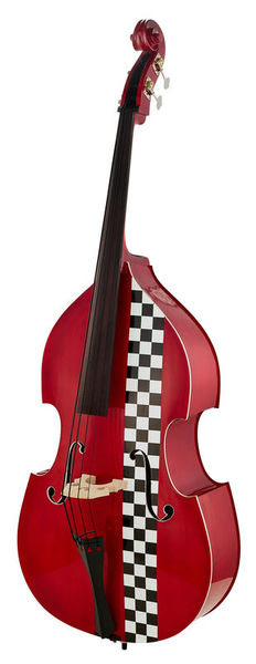 Thomann Rockabilly Red Slapper Taxi