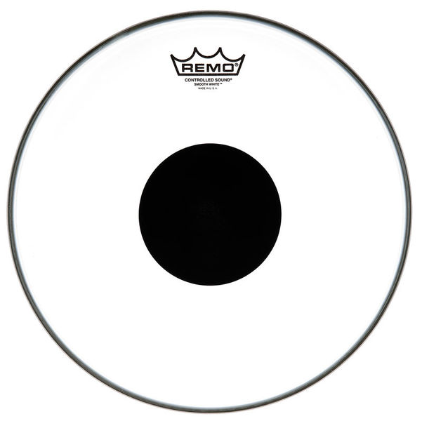 "Remo 13"" CS White Smooth"