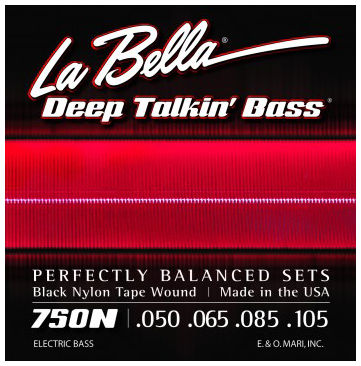 La Bella Black Nylon Tape 750N