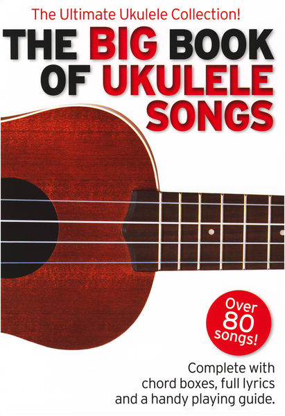 Wise Publications Big Book Of Ukulele Songs