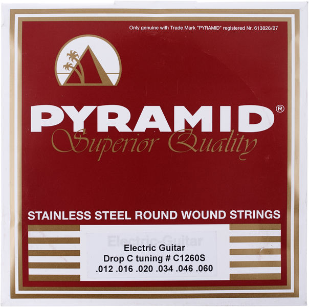 Pyramid Electric Guitar Drop C