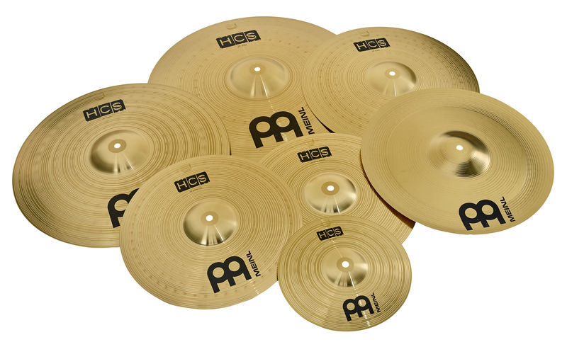 meinl hcs super cymbal set thomann united states. Black Bedroom Furniture Sets. Home Design Ideas