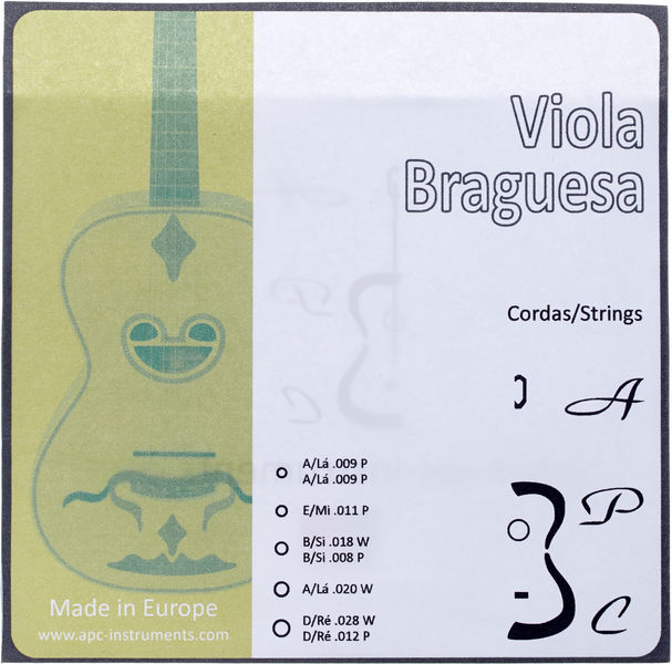 Antonio Pinto Carvalho Viola Braguesa Strings