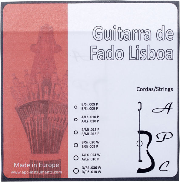 Antonio Pinto Carvalho Fado Guitar Lisboa Strings