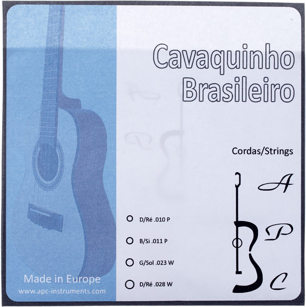 Antonio Pinto Carvalho Cavaquinho Brasileiro Strings
