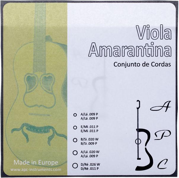 Antonio Pinto Carvalho Viola Amarantina Strings