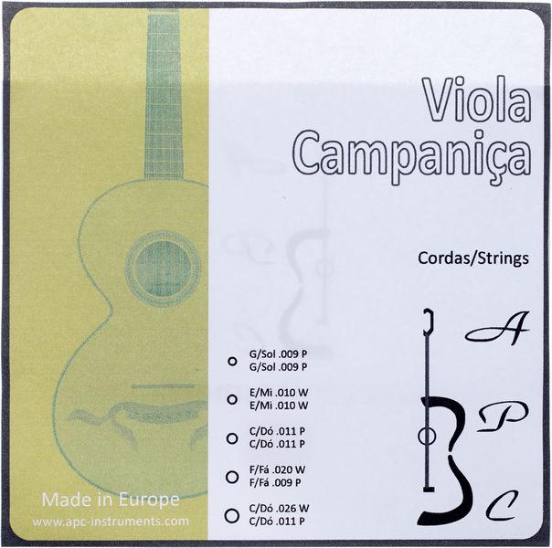 Antonio Pinto Carvalho Viola Campanica Strings