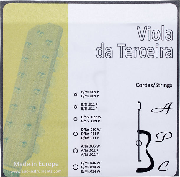 Antonio Pinto Carvalho Viola da Terceira Strings