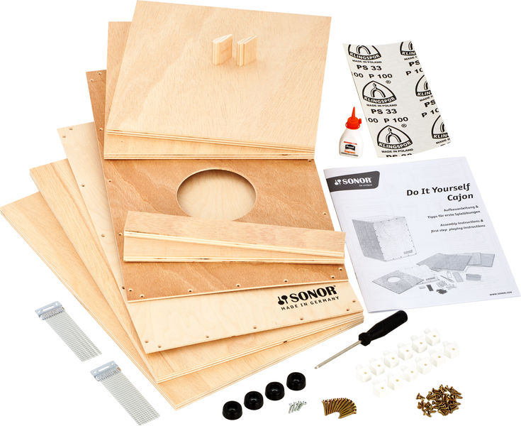 Sonor Cajon Construction Kit Adults