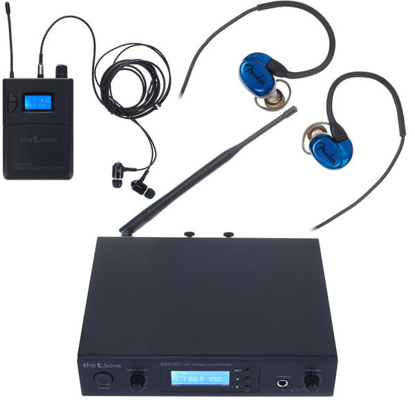 the t.bone IEM 100 - 863 Mhz Bundle