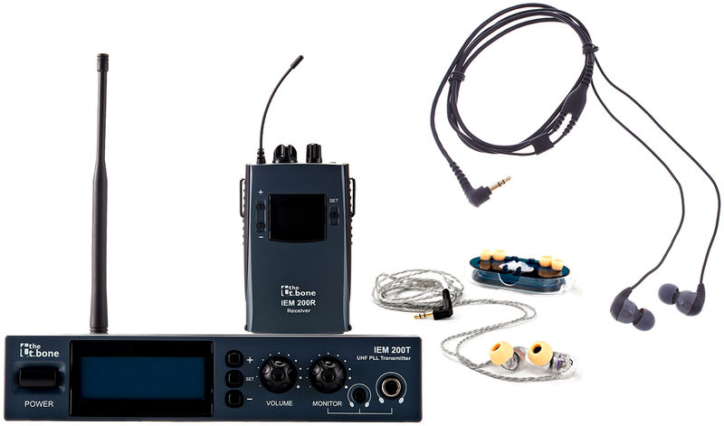 the t.bone IEM 200 - 710 MHz Bundle