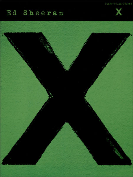 Wise Publications Ed Sheeran: X (PVG)