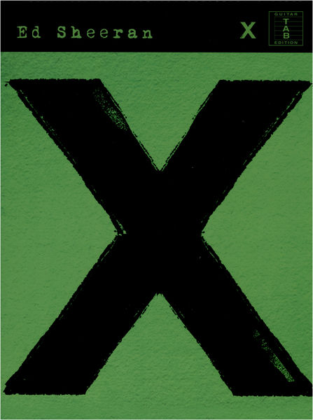 Wise Publications Ed Sheeran: X (TAB)