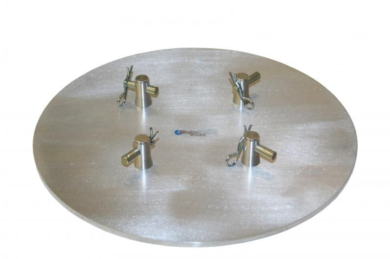 Global Truss F14Base Plate round Ø 25cm