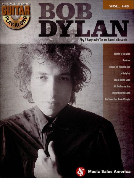 Hal Leonard Guitar Play-Along Bob Dylan