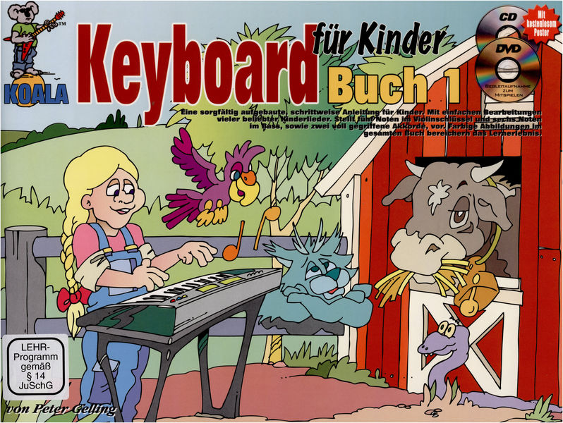 Koala Music Publications Keyboard für Kinder