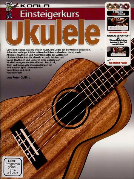 Koala Music Publications Einsteigerkurs Ukulele