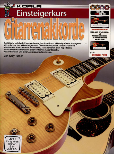 Koala Music Publications Einsteigerkurs GitarrenAkkorde