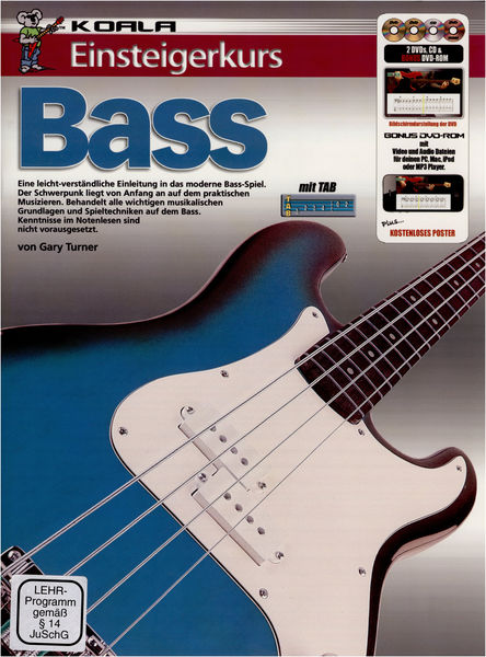 Koala Music Publications Einsteigerkurs Bass