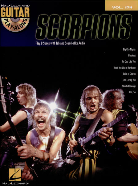 Hal Leonard Guitar Play-Along Scorpions