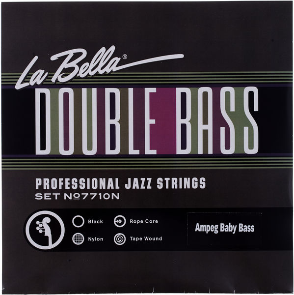 La Bella 7710 BB Baby Bass Strings