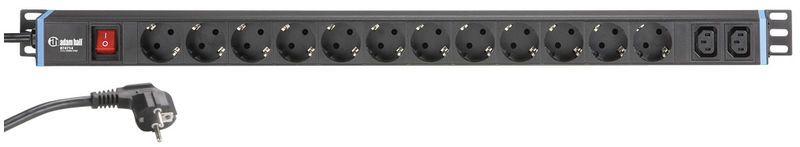 Adam Hall 874714 Power Strip 1U
