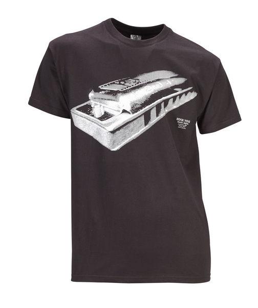 Rock You T-Shirt Harmonica L