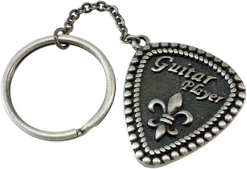 Rockys Key Ring Pick Guitar Lily