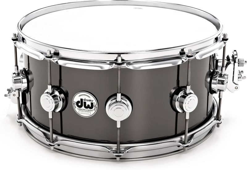 "DW 14""x5,5"" Black Nickel o. Brass"