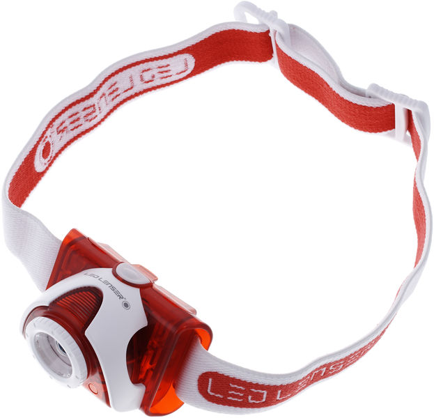 LED Lenser SEO 5 LED Headlamp red
