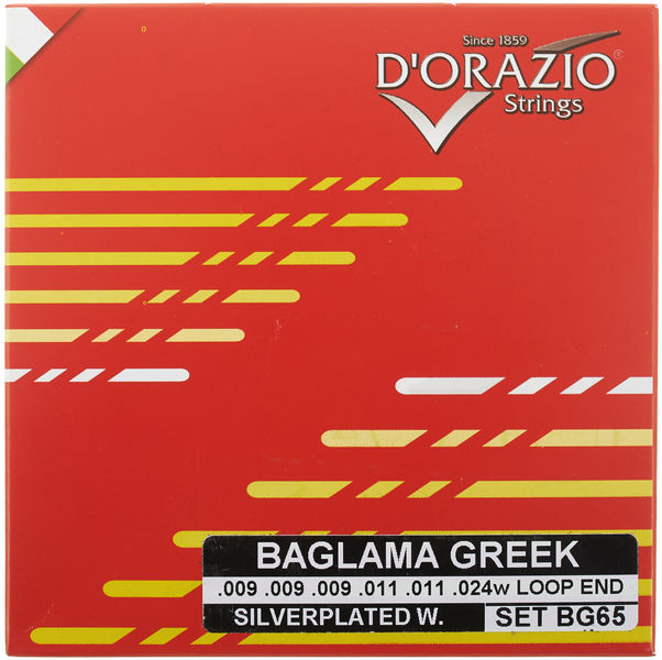 Dorazio BG65 Greek Baglamas Strings