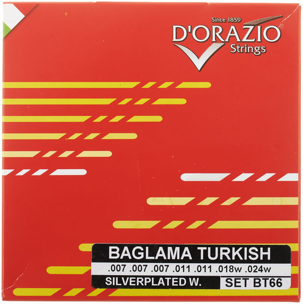 Dorazio BT66 Turkish Baglama Strings