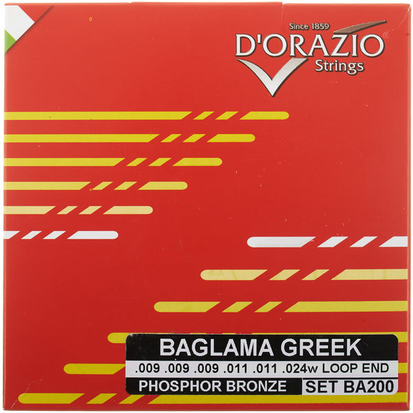 Dorazio BA200 Greek Baglamas Strings