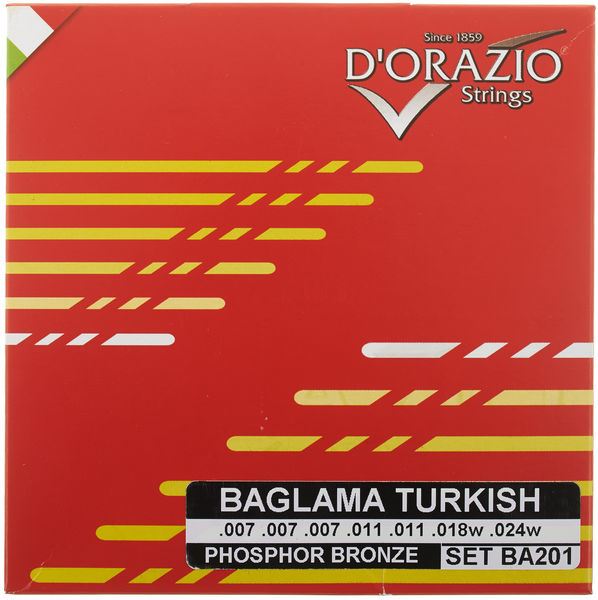 Dorazio BA201 Turkish Baglama Strings