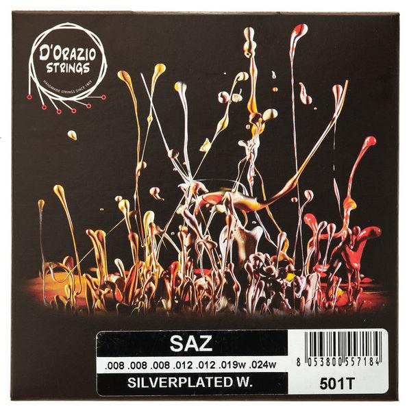 Dorazio 501T Turkish Saz Strings
