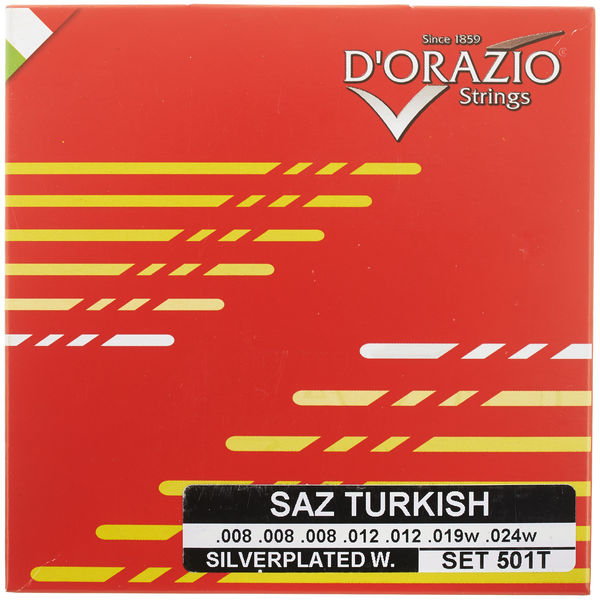 Dorazio 501T Turkish Saz Strings