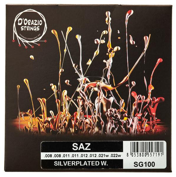Dorazio SG100 Saz Strings Medium