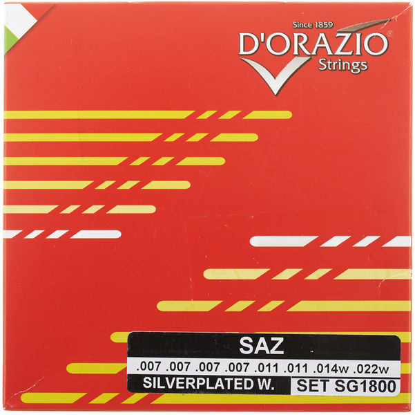 Dorazio SG1800 Saz Strings Extra Light