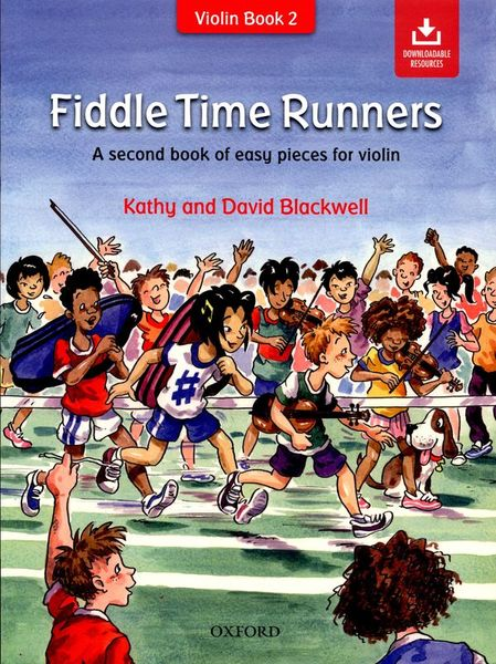 Oxford University Press Fiddle Time Runners +CD