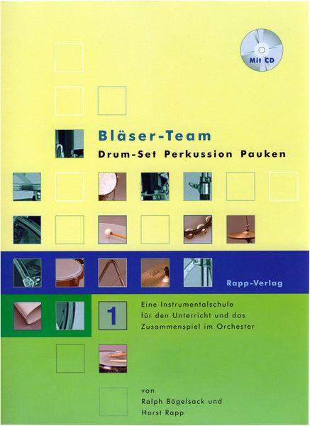 Horst Rapp Verlag Bläser-Team 1 Drums