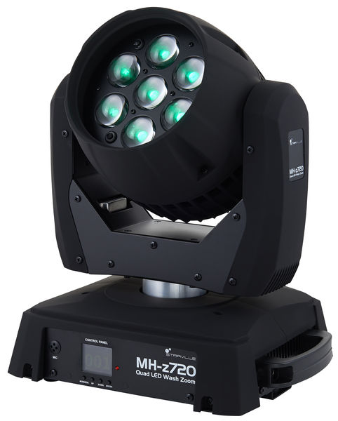 MH-z720 Quad LED Wash Zoom Stairville