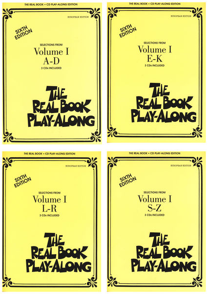 Hal Leonard Real Book CD Play-Along A-Z