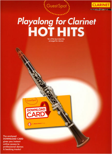 Music Sales Guest Spot Hot Hits Clarinet