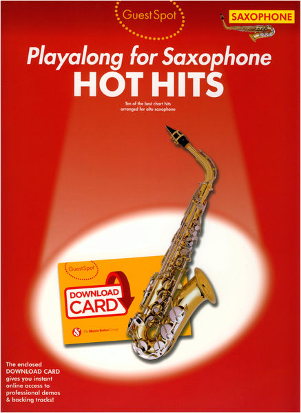 Music Sales Guest Spot Hot Hits A-Sax