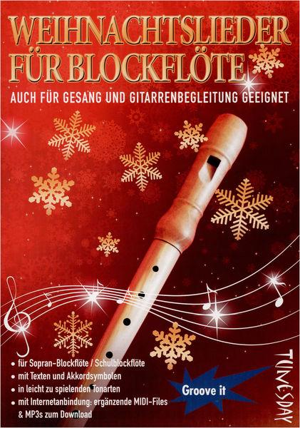 Tunesday Records Weihnachtslieder f. Blockflöte