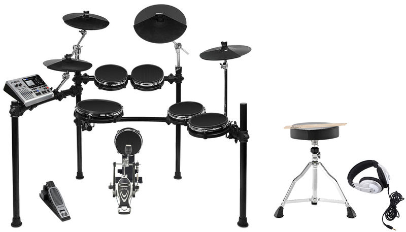 Alesis DM10 Studio Mesh E-Drum Bundle