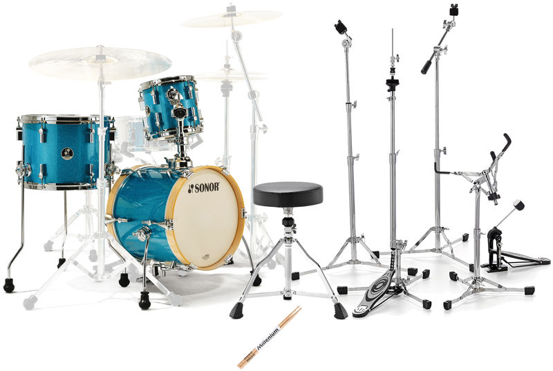 Sonor Martini Set Turquoise S Bundle